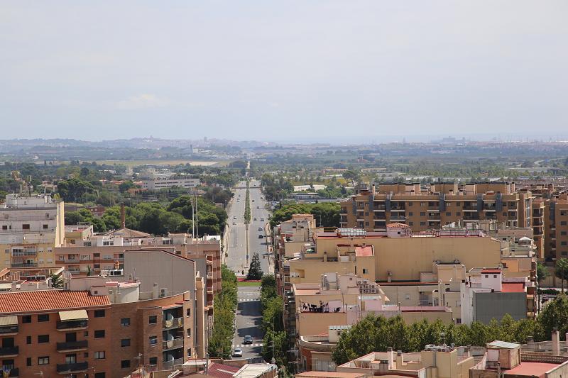 Du haut du clocher, vous avez une vue imprenable à 360 degrés sur Reus