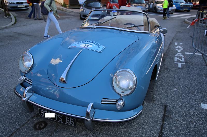 Голубой Porsche 356B: двигатель Super 90