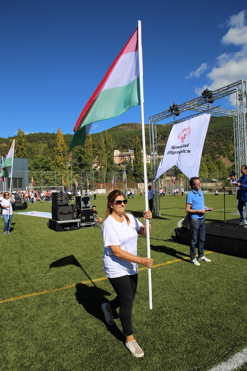 The Official Ceremony Of The Closing Of Special Olympics