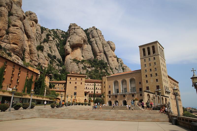 Le monastère de Montserrat, en Espagne - Catalogne