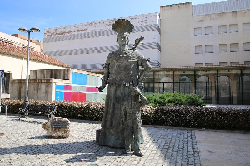 Monument de l'Inde à Reus