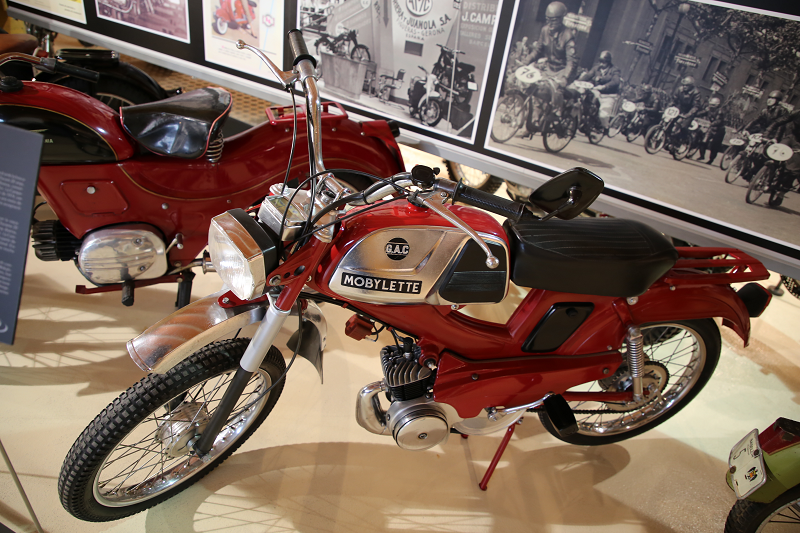 Mobylette Motorcycles. Campera 49 Cc (1974) • ALL ANDORRA
