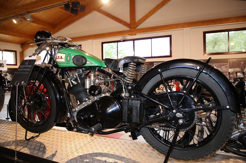 Vintage Motorcycles: BSA Sloper 493 сс (1928) • ALL ANDORRA