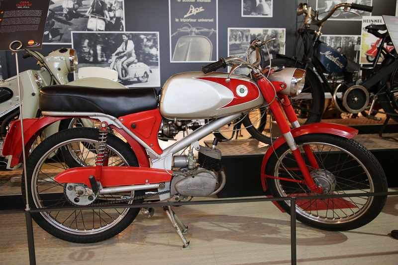 Vintage Motorcycles: OSSA Ossita 50, 47.6 Cc (1972) • ALL