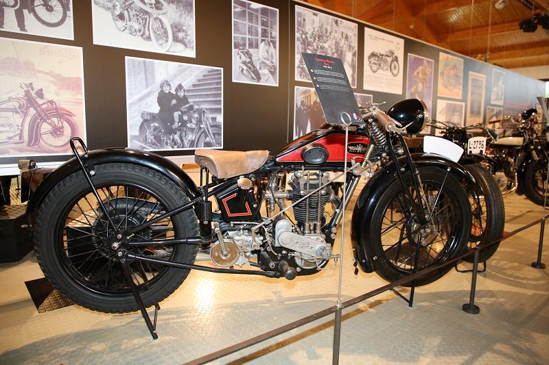 Vintage Motorcycles: Gnome Et Rhône D 4, 500 Cc (1928