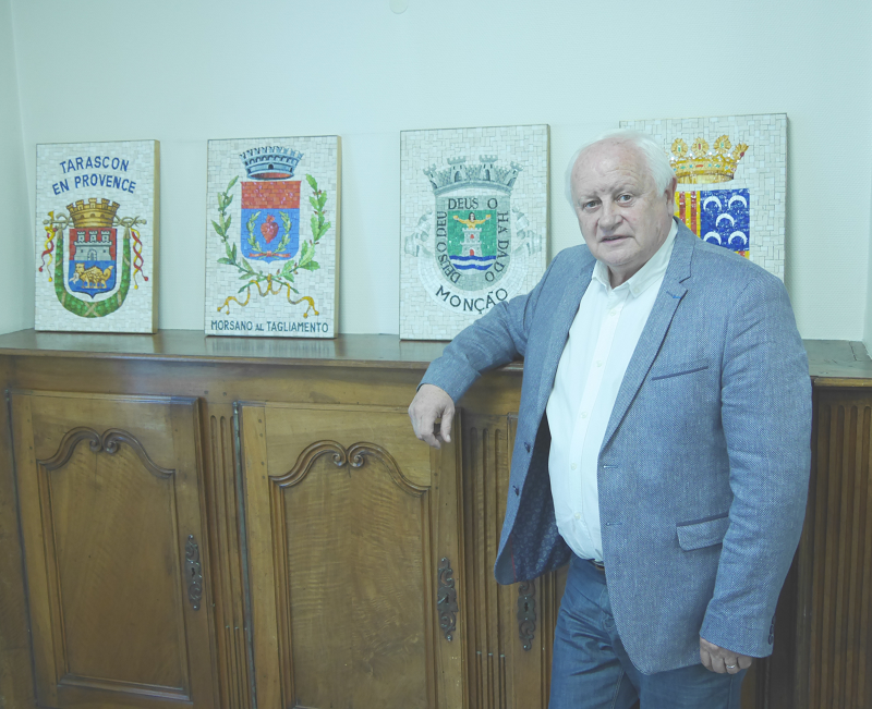 Mayor of Tarascon-sur-Ariège, Alain Sutra