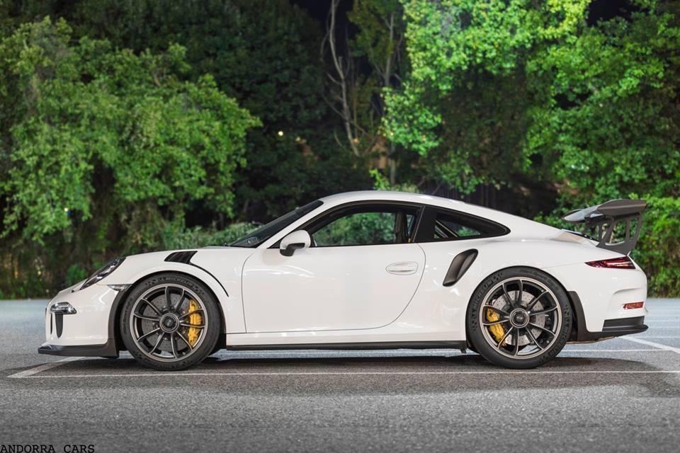 Porsche 991 GT3 RS : couleur blanche