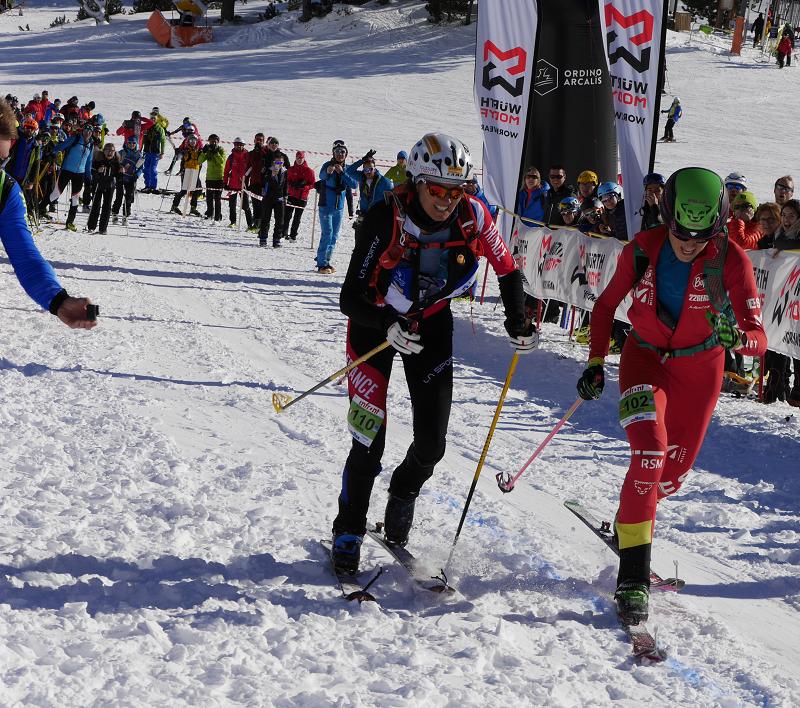 Горнолыжный альпинизм_Андорра_борьба за второе и третье место