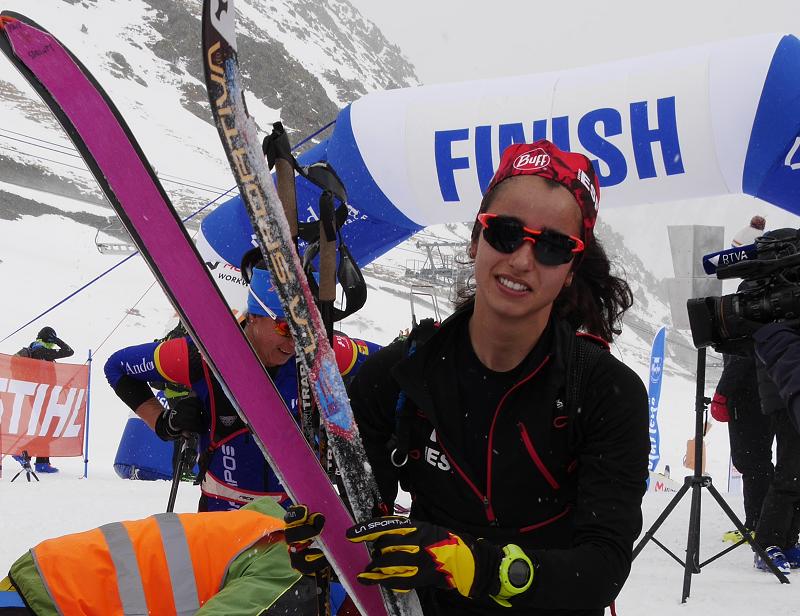 Горнолыжный альпинизм_Андорра_вертикальная гонка_женщины_финиш