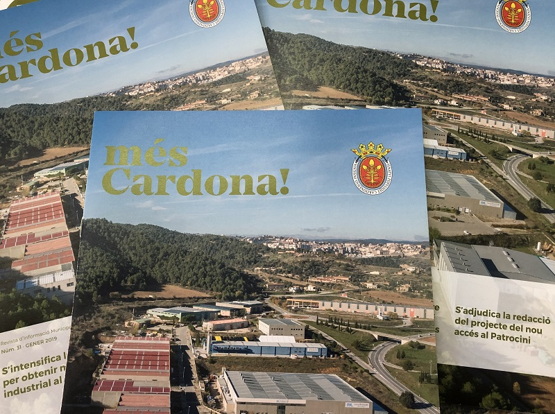 Номер 31 муниципального журнала 'Més Cardona!' уже в городе
