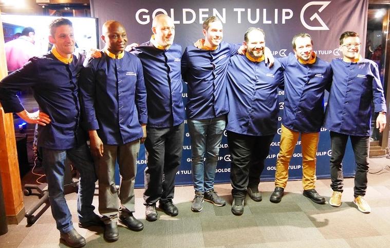 Serge Aniambossou, Sebastien Clini, Laurent Lecompte, Cyrille Repetto, Matthieu Saunier, Mathias Vila, Servé Vromien