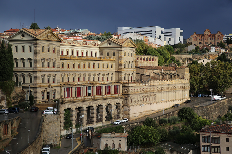 Manresa - la ville principale de la Catalogne centrale