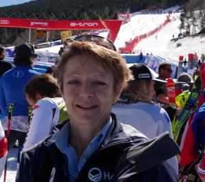 Estem més que contents amb el nivell de l'organització la Copa AUDI FIS a Andorra amb la magnífica col.laboració, ha dit la Secretària General de la FIS, Sarah Lewis