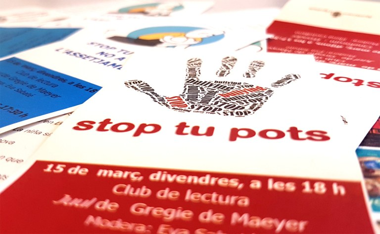 "New initiatives from Igualada's program (Catalonia) ""Stop, you can"" against harassment at schools"