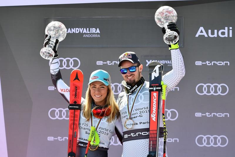 Mikaela Shiffrin (États-Unis) continue de marquer l'histoire et Dominik Paris (ITA) remporte le doublé avec le Super-G à la finale 2019 en Andorre
