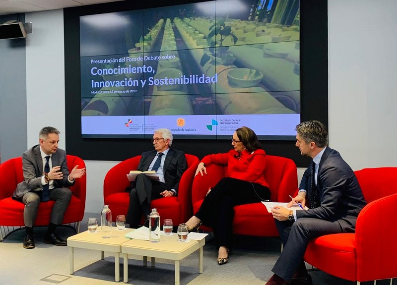 Andorra participates in the Knowledge, Innovation and Sustainability Discussion Forum to coordinate the upcoming Ibero-American Summit in 2020