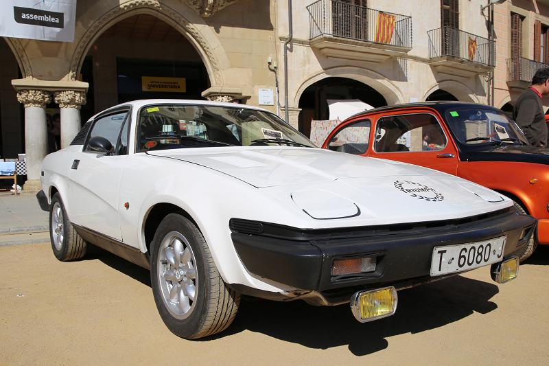 Triumph TR7: белая версия образца 1977 года