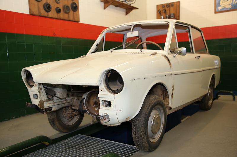 Голландский Daf 33 образца 1970 года