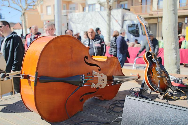 Ярмарка трюфелей в Сольсоне 2019: музыкальные инструменты