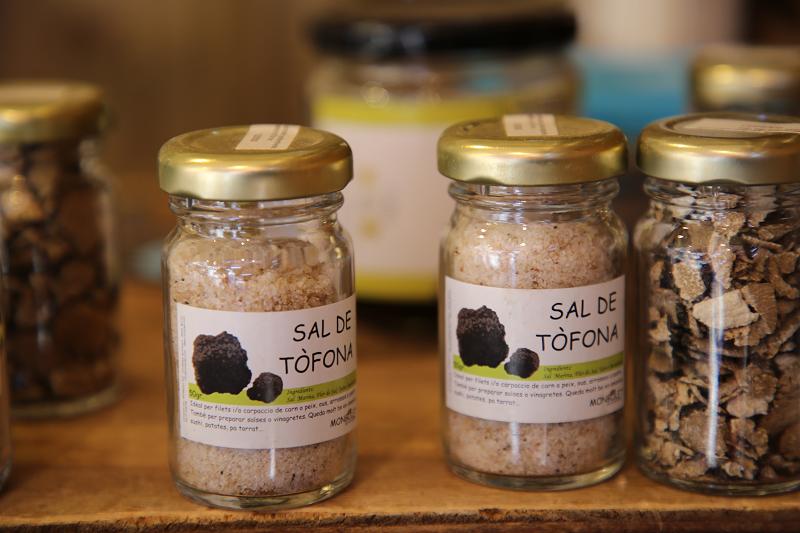 Ярмарка трюфелей в Сольсоне 2019: соль с трюфелями