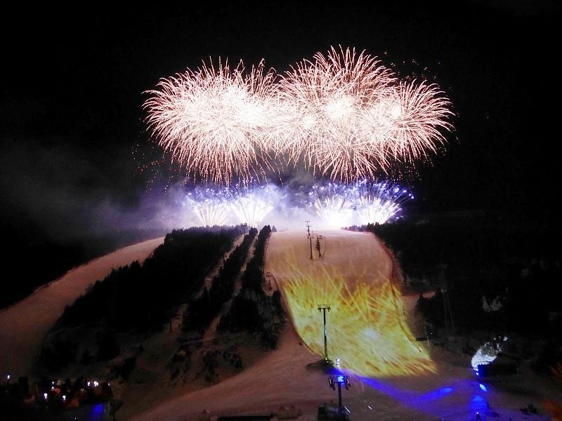Cerimònia d'obertura: Finals Copa del Món, pista Avet, Soldeu, Grandvalira