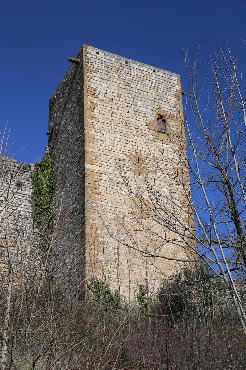 Le château de Puivert France