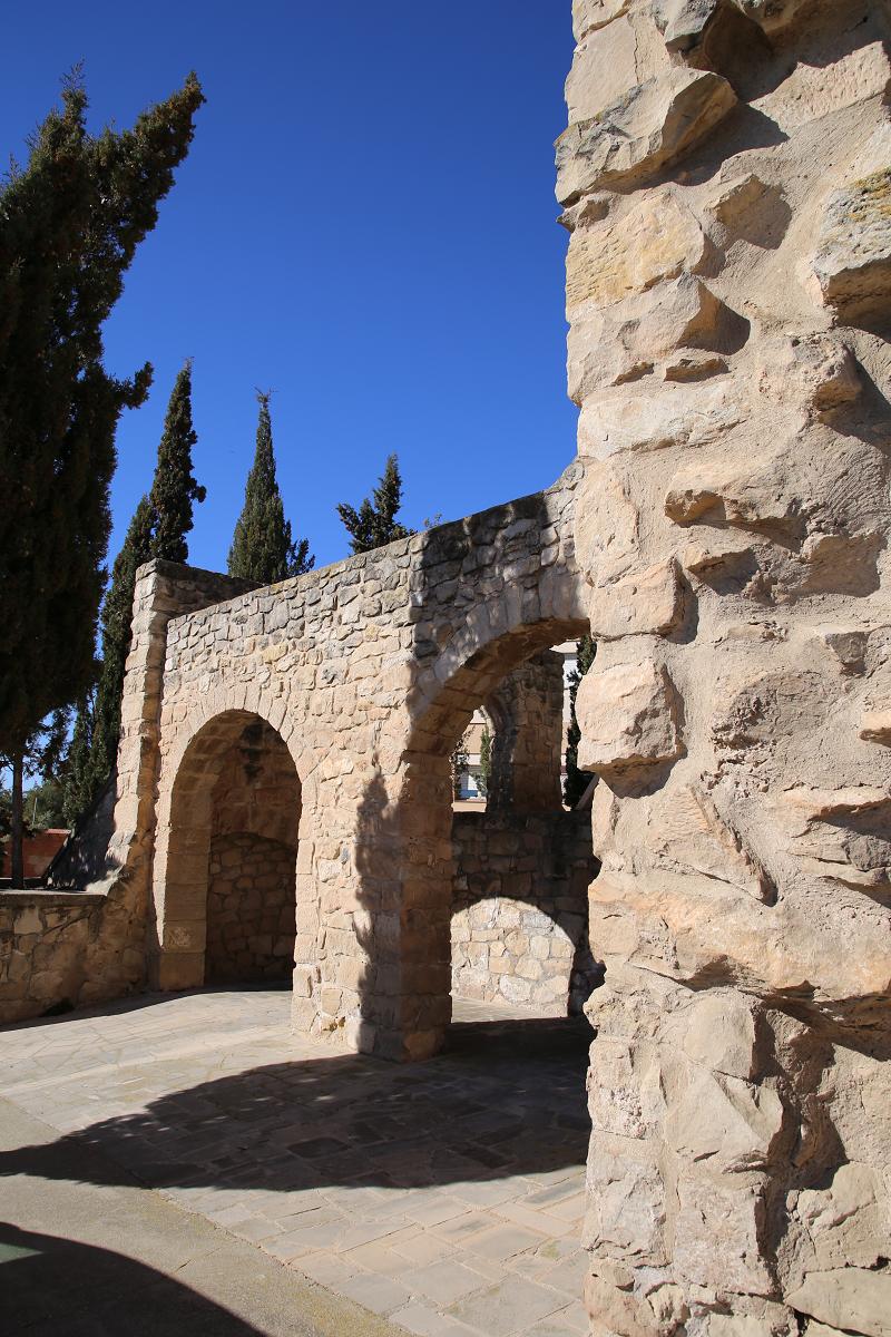 Le château territorial d'Arbeca