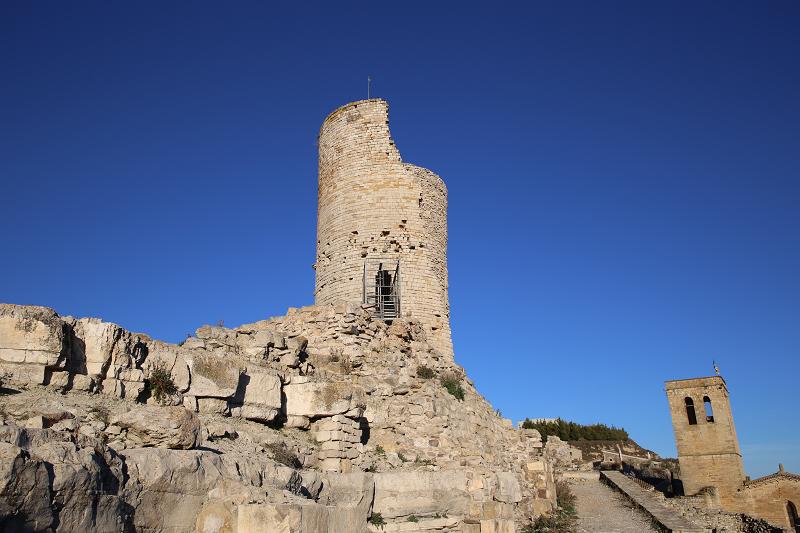 Le château et le village de Guimerà