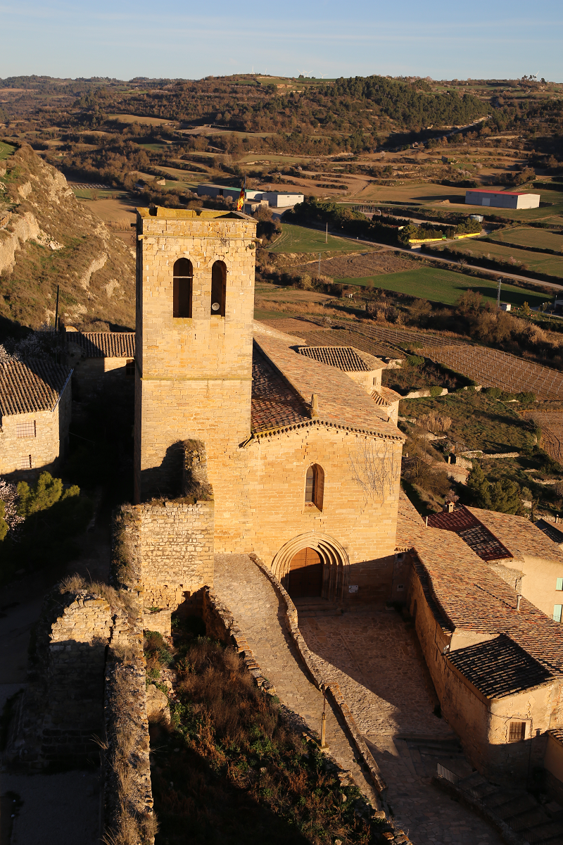 Le château de Guimerà (cat. El castell de Guimerà)