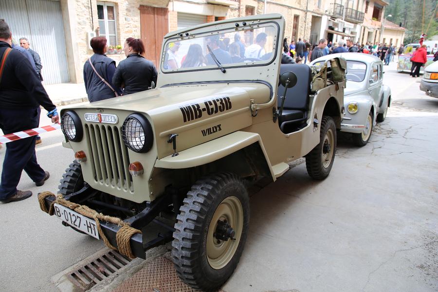 Jeep Viasa CJ-3B. Сделано в Сарагосе (Испания)