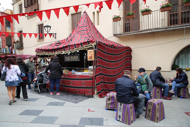 Средневековая ярмарка в Остальрике, Каталония 20.04.2019