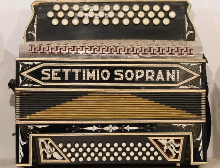 Settimio Soprani, the best accordionist in Italy