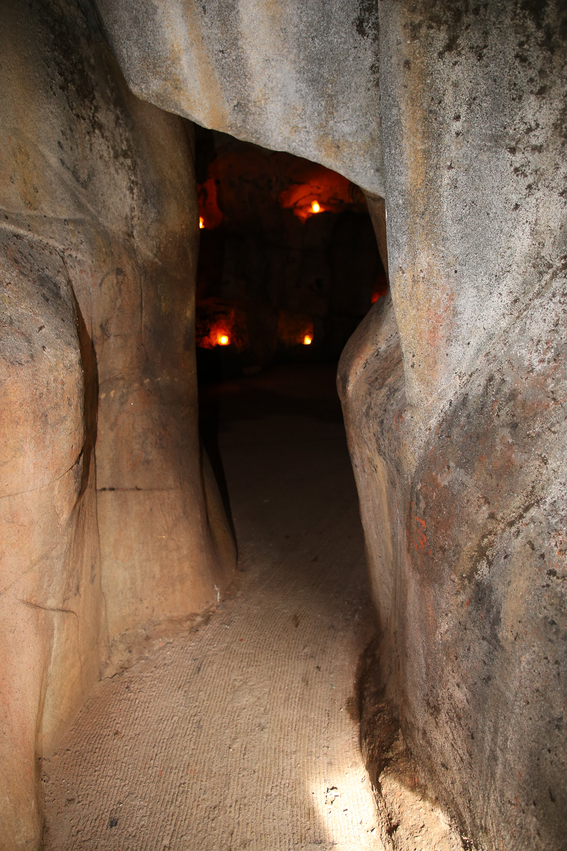 Доисторический парк в Тараскон-сюр-Арьеж (Пиренеи, Франция)