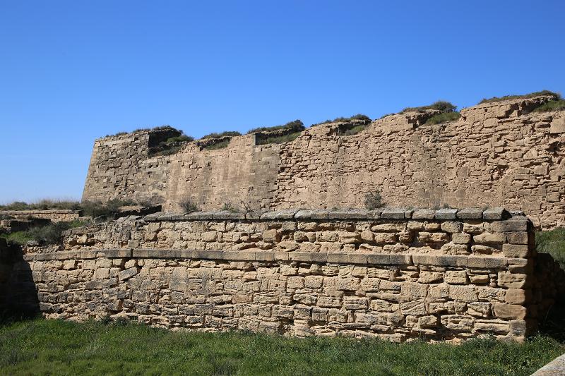 La suda de Lérida: château du Roi de la cité de Lérida, d'origine andalouse