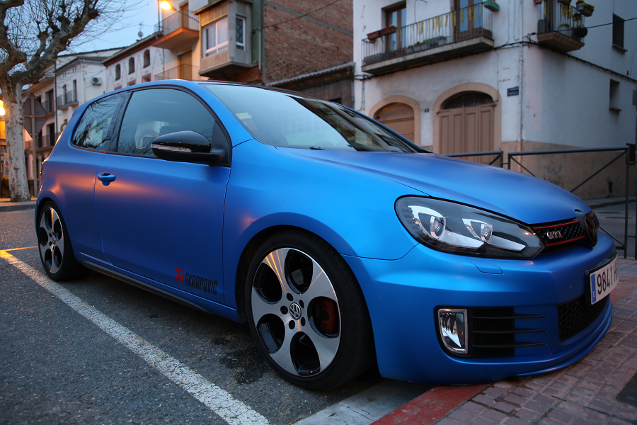 Volkswagen Golf Vii Gti Akrapovic Titanium Slip On Race Exhaust