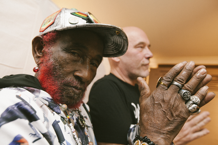 Lee Scratch Perry i Adrian Sherwood