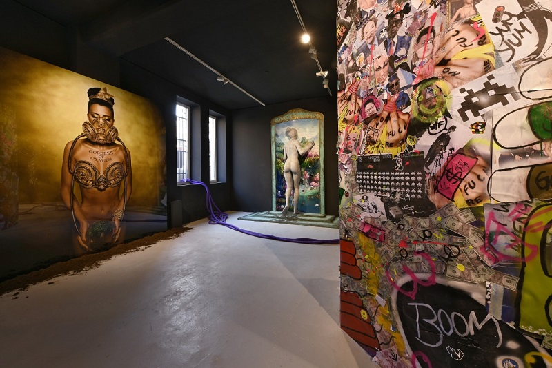 "Philippe Shangti's exhibition ""The Future is Now"", prepared for the opening of the 58th Venice Art Biennale"