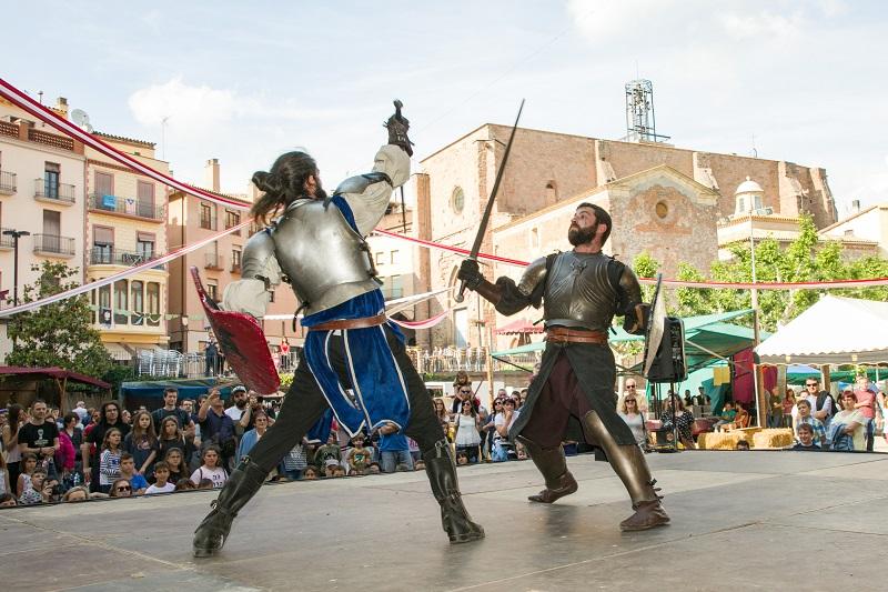La Fira Medieval de Cardona reforça les activitats destinades al públic familiar