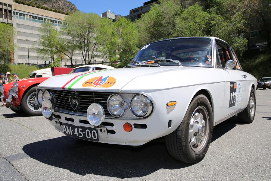 Lancia Fulvia: белая версия