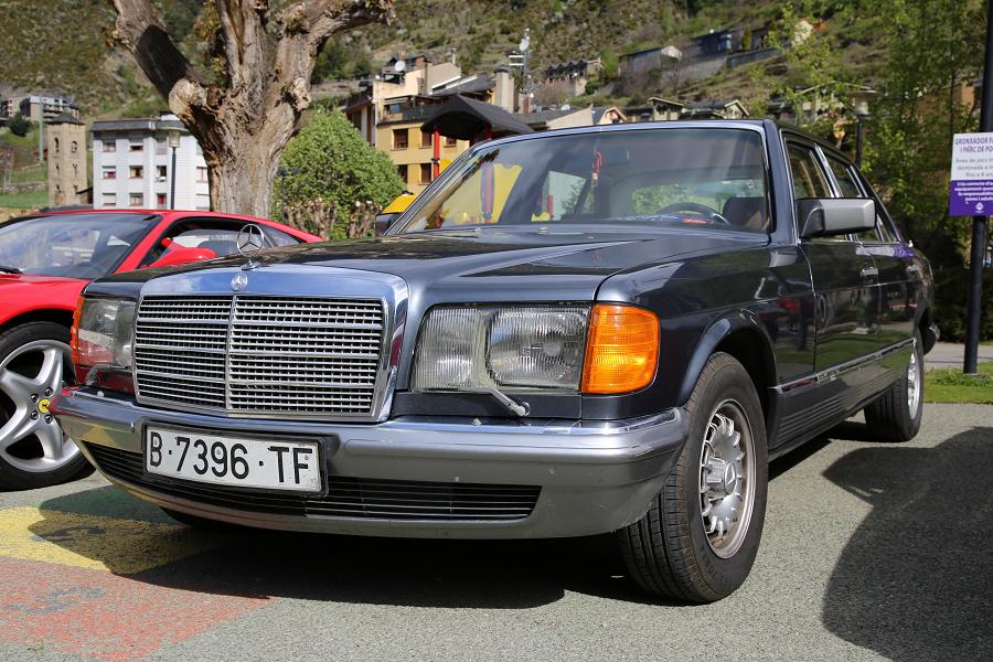 Mercedes-Benz 280 SEL (W126): серая версия образца 1984 года