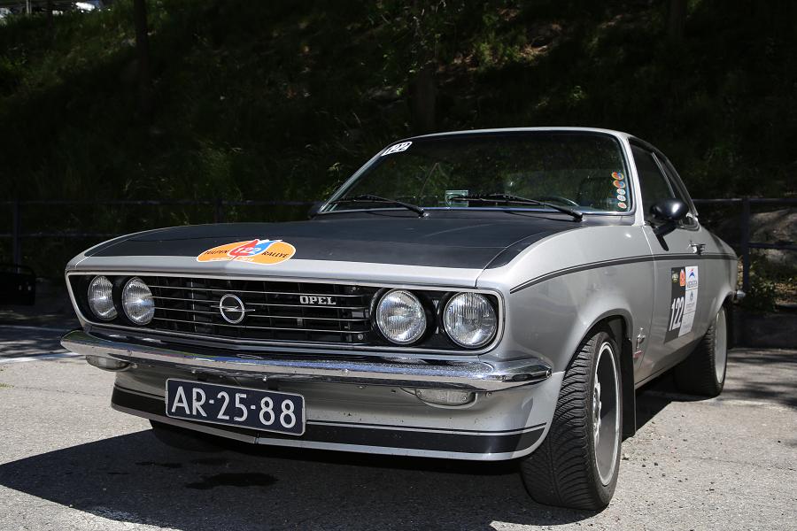 Opel Manta: серая версия образца 1972 года