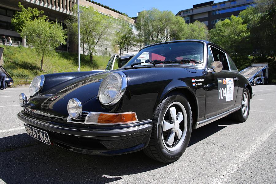 Porsche 911 T: черная версия