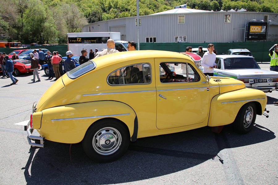 Volvo PV 544: желтая версия образца 1960 года