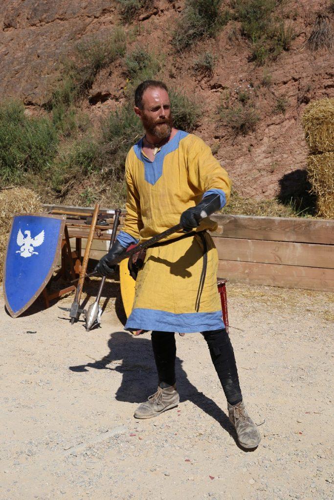 Cardona has celebrated the Medieval Fair and the Salt Festival