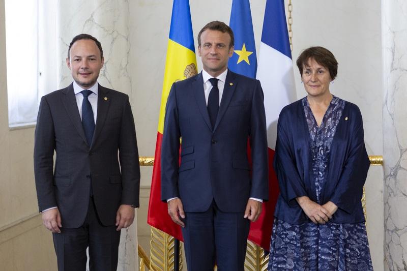 В сентябре Андорру посетит со-князь Андорры, президент Франции Эммануэль Макрон