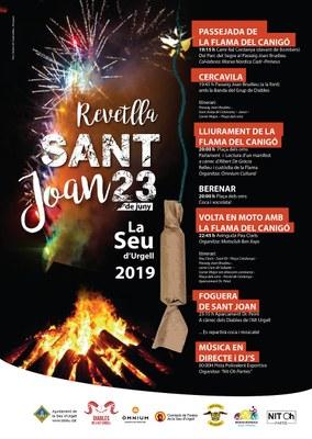Пламя Канигу прибудет в Сео-де-Уржель 23 июня