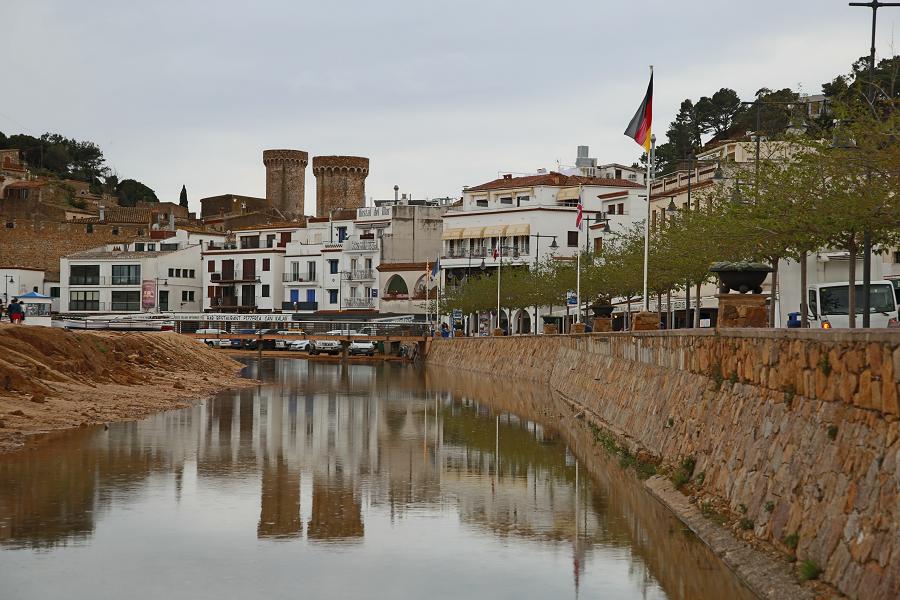 Тосса-де-Мар где купаться