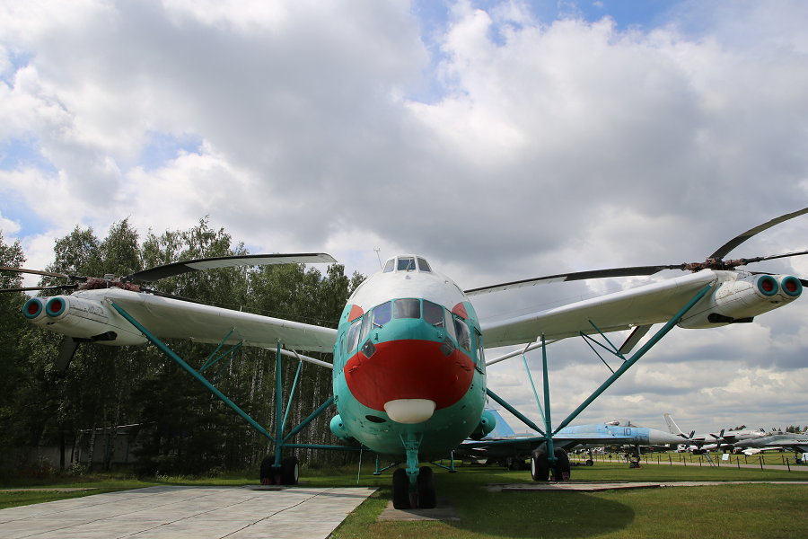 Ми 12 (V12). Тяжелый транспортный вертолет образца 1967 года