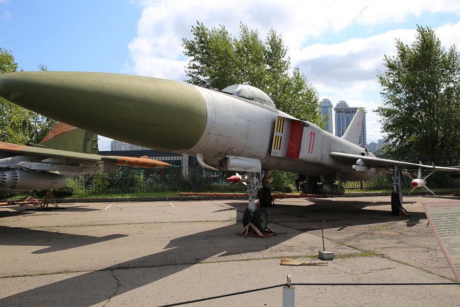 Советский истребитель-перехватчик Су 15ТМ. Разработан в 1962 году
