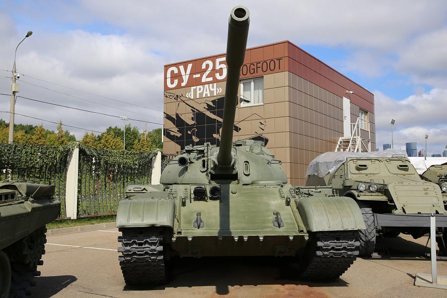 T-55 : tank moyen Soviétique. Développé en 1958
